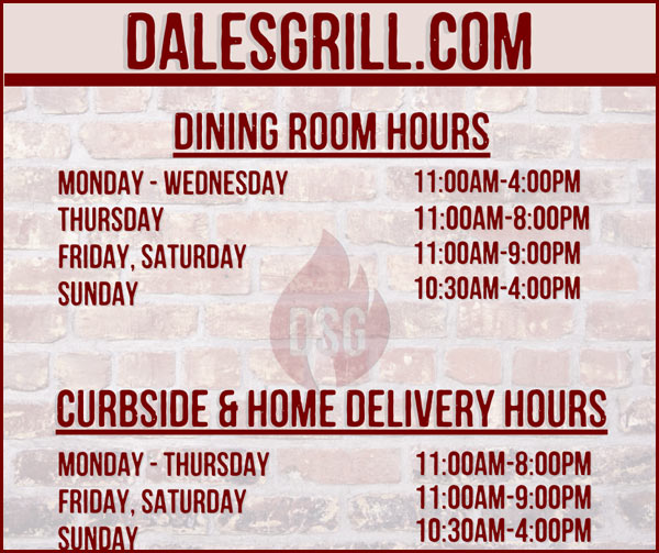Dining Room Hours